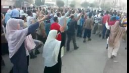 مسيرة انطلقت امام بنزينة البيطاش 3 / 10 / 2014