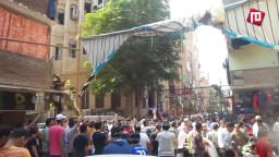 تكبيرات العيد من مسيرة ثوار الزاوية الحمراء