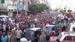 الاسكندرية-مسيرة ليس لها اخر بعد صلاة العيد