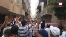 مسيرة ثوار حدائق حلوان عقب العيد