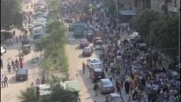 حشود مليونية يوم 6 أكتوبر ضد الإنقلاب بالدقى