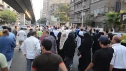 مسيرة بشارع السوادن ضد حكم العسكر