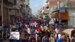 مسيرة حاشدة لثوار حوش عيسى 21-10-2014