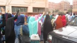 مسيرة كلية الطب _ طلاب جامعة المنوفية