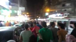 مسيرة حاشدة قوية تهز شوارع سيدى بشر