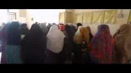 فعالية طالبات ضد الانقلاب بكلية الدراسات