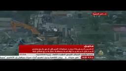 جرافات الجيش تهدم منازل الشريط الحدودي