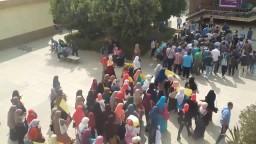 فاعلية يومية طلاب ضد الانقلاب جامعه حلوان