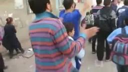 طلاب وطالبات البصارطه فى مسيره قويه