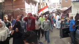 مسيرة حاشدة لثوار الرمل 31/ 10/ 2014