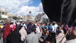 مسيرة شارع الملاحة .. العسكر يبيع سيناء