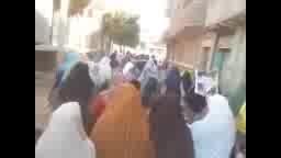 مسيرة لاحرار مدينة ناصر- العسكر يبيع سيناء