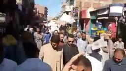 مسيرة ابشواي لرفض تهجير أهالى سيناء