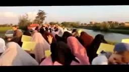مسيرة دسوق تنديدًا بـ تهجير أهالي سيناء