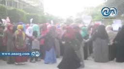 مسيرة طالبات ضد الانقلاب بجامعة القاهرة