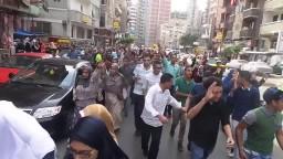 مسيره بشارع جمال عبدالناصر بسيدى بشر