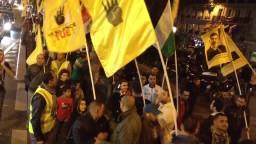 ثوار باريس ينتفضون ضد اجرام الانقلاب
