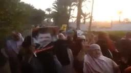 انتفاضة نساء ضد الانقلاب -مركز ببا 11 / 11 / 2014