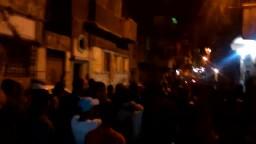 مسيرة شبابية حاشدة بالورديان 22/11/2014
