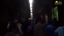 مسيرة حاشدة بالمهندسين ضد براءة مبارك
