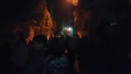 ثوار الإسكندرية احتجاجا على براءة المخلوع