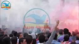 مسيرة لطلاب ضد الانقلاب بالشماريخ