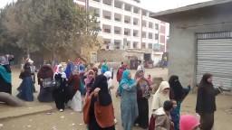 مسيرة حرائر مركز ببا ببنى سويف 8 / 12 / 2014