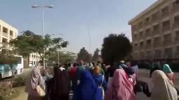 طلاب ضد الانقلاب بجامعة المنيا
