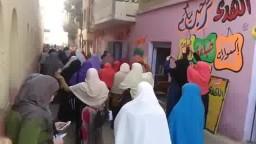 طالبات ضد الانقلاب بتفهنا الاشراف 10- 12- 2014
