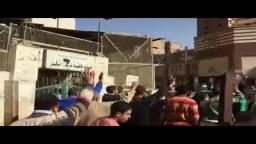 مسيرة مسجد محطة عزبة النخل 12_12_2014