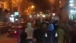 مسيرة لثوار بنى سويف تهتف مش هنسيب الحق