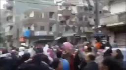 جانب من حشود الثوار بكافة أنحاء الجمهورية