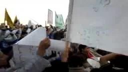 الالتراس يشغل حماس مسيرة بلطيم