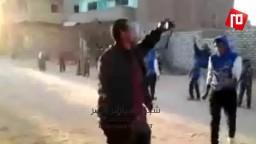 وقفة لثوار الاقصر امام منزل الشهيد محمد سيد
