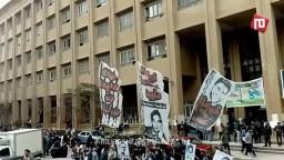 طلاب الاسكندرية ينتفضون لإعتقال زملائهم