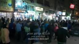 مسيرة ليلية لاحرار حلوان رفضا لحكم العسكر