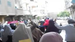 مسيرة صباحية لثوار كفر الدور- معاً نثور