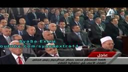 كيف يقرأ رئيس قضاء الانقلاب القرآن