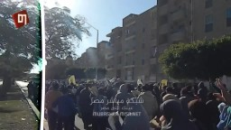 مسيرة حاشدة لاحرار مدينة السادات