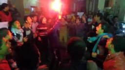 اولتراس منشاوى يشعل مسيرة منشأة عبدالله