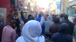 مسيرة لأهالي سمالوط تتحدى قمع العسكر