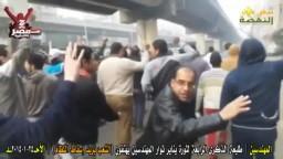 المهندسين: الشعب يريد اسقاط النظام 25 يناير