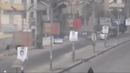 إعتداء قوات الانقلاب على مسيرة حي شاهين بالمنيا
