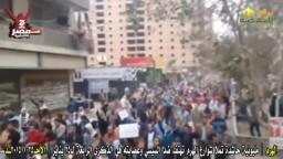 مليونية حاشدة تملأ شوارع الهرم  25/ 1/ 2015