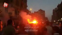 هتاف الثوارعلى اعتاب ميدان التحرير