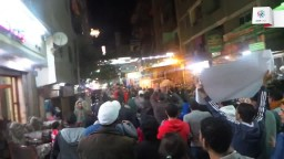 مسيرة شبابية بالمعادي في ذكرى جمعة الغضب
