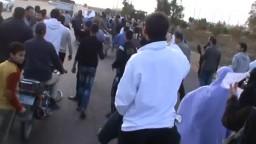مسيرة لاحرار مطوبس علي الطريق الدولي