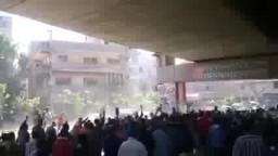 حشود مسيرة ثوار فيصل  لإسقاط الانقلاب