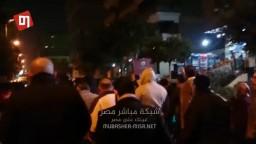 مسيرة ليلية لاحرار م. نصر