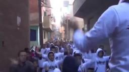 أولتراس مصر سياسي يشعل مسيرة - كفر طحا